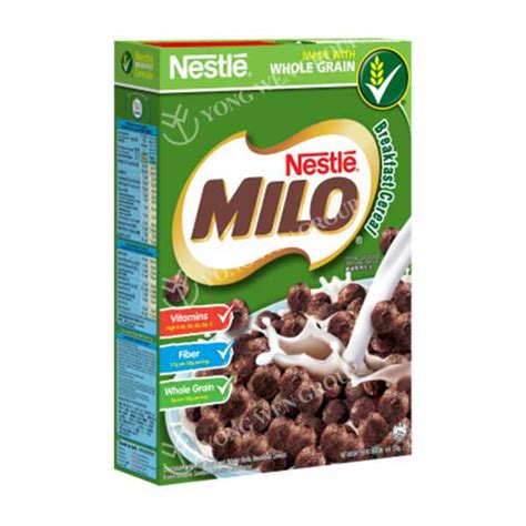 Milo Balls Cereal cereals products yong wen