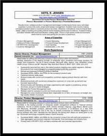 sle resume product manager