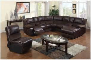 f brown microfiber leather reclining sectional sofa chaise