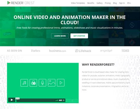 renderforest renderforestcom twitter renderforest is another option for online video and
