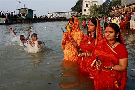 Colors Splash Splash Chhath Puja Different Colors Of Chhath Puja