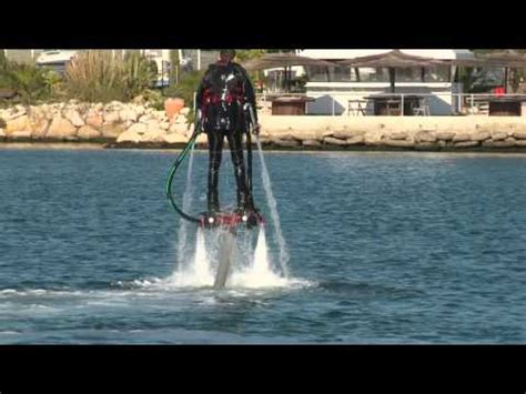 water rocket boots amazing water powered rocket boots will send you