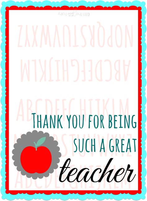 printable thank you cards for teacher appreciation free teacher appreciation printables for gift cards the