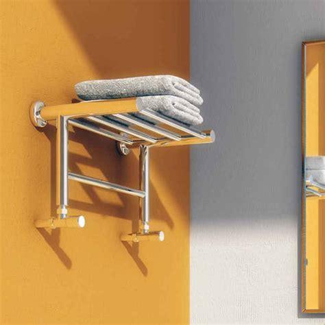 troisi towel radiator shelf stainless steel
