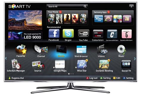 Tv Samsung Smart Tv samsung smart tv un intero mondo nel tv le tecnoguide supermedia supermedia it