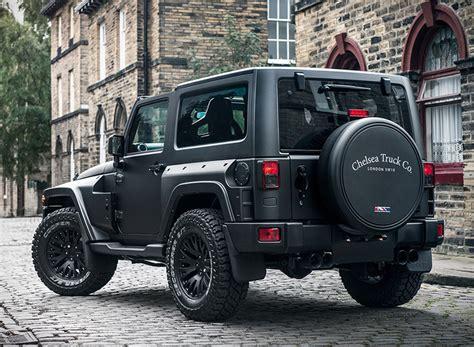 black jeep truck jeep wrangler black hawk edition by project kahn chelsea