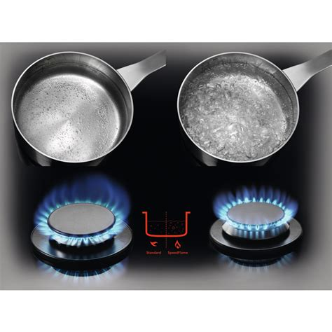 kookplaat 77 cm aeg hg795550xb gas op glas kookplaat met wok 77 cm 5