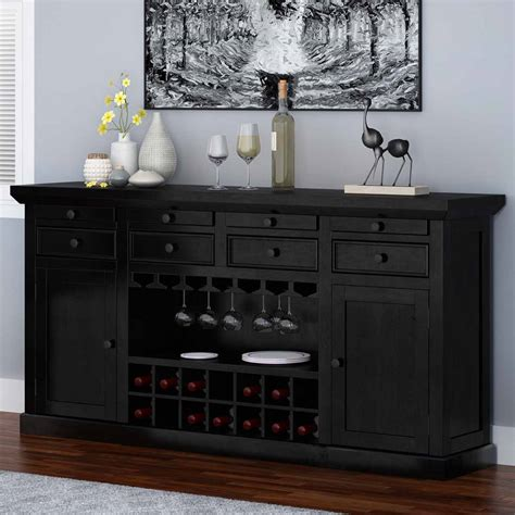 solid wood bar cabinet nottingham solid wood classic wine bar sideboard cabinet