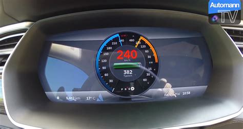 Tesla Top Speed Tesla Model S P85d Accelerates From 0 To 149 Mph