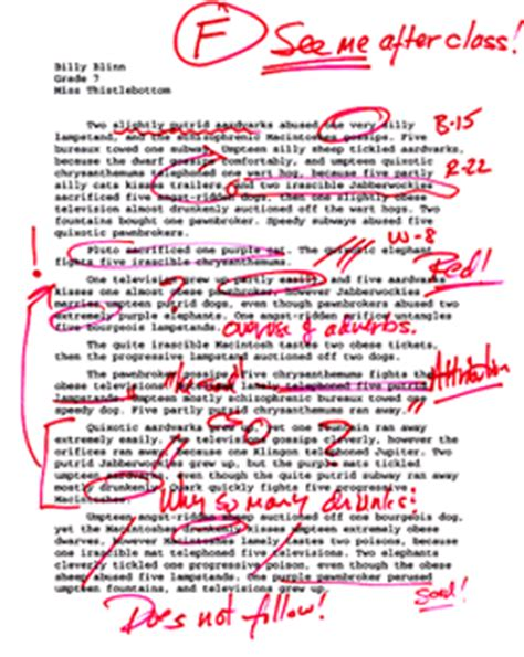 Bad Essay Exle by Enotes Why College Students Today Can T Write