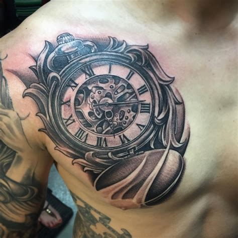 125 timeless pocket watch tattoo collection of 25 pocket