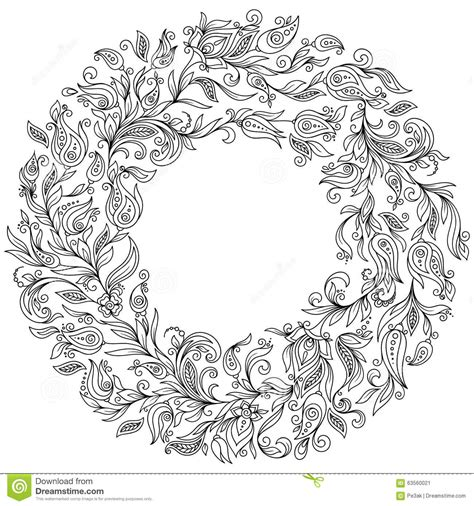 coloring book dopefile flower wreath coloring wreaths wreath flowers