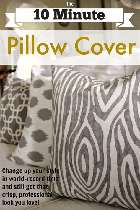 How To Make Decorative Pillows Without Sewing by 25 Best Ideas About Sewing Pillow Patterns On
