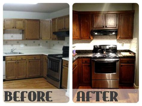 25 best ideas about restaining kitchen cabinets on