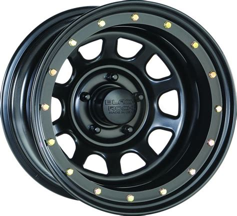 Steel Jeep Wheels Cragar Wheels 952685050 Black Rock Series 952