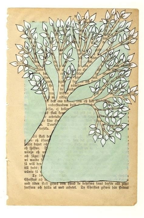 inspiration board recycling upcycling vintage books
