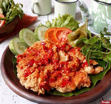 ayam krispi geprek pedas enak khas jogja resep resepkoki