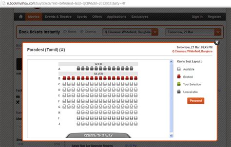 bookmyshow email public forum q cinemas ticket booking resumed in