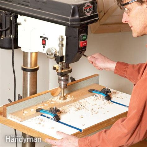press woodworking how to build a drill press table the family handyman