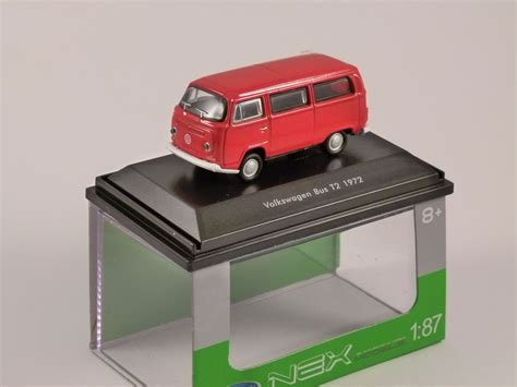 Welly Nex 72 Volkswagen T2 Skala 136 volkswagen t2 1 87 scale model welly