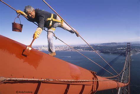 andy freeberg photography color portraits golden gate bridge painter