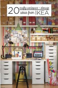 Storage Ides 20 Crafty Workspace Storage Ideas From Ikea Babble