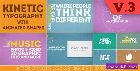 videohive lyrics typography messenger 187 free after