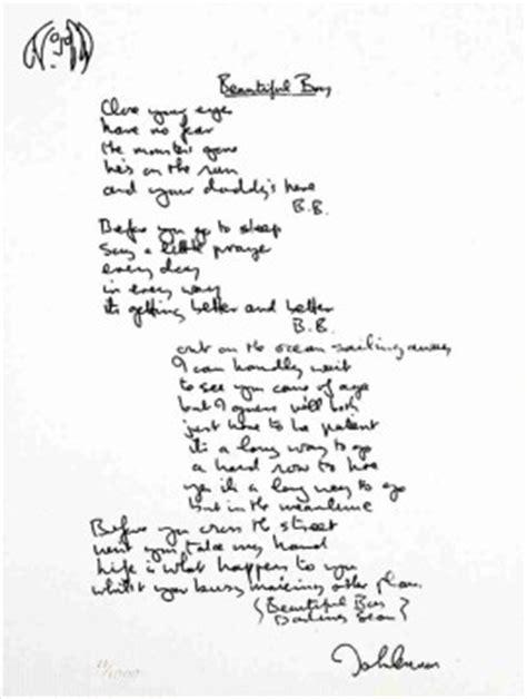 The Art of John Lennon - Hand Written Lyric Editions