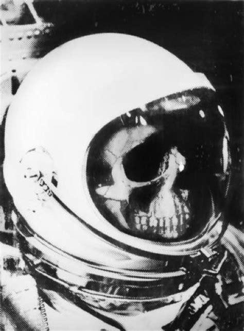 Skull Space astronaut skull pics about space