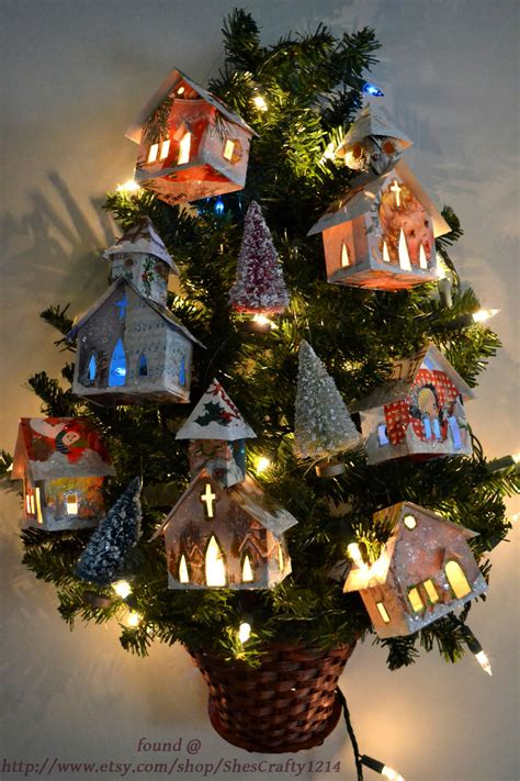 net find of the week recycled christmas cards ornaments