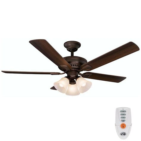Hton Bay Ceiling Fans Remote by Hton Bay Cbell 52 In Indoor Mediterranean Bronze