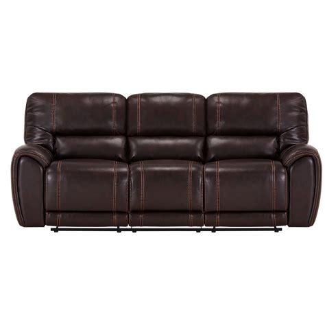 Brown Microfiber Reclining Sofa by Bailey Brown Microfiber Power Reclining Sofa