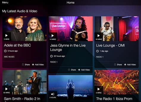 music television shows bbc music app offers best of bbc radio and tv music shows