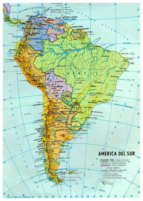 detailed america map best photos of large map of south america south america