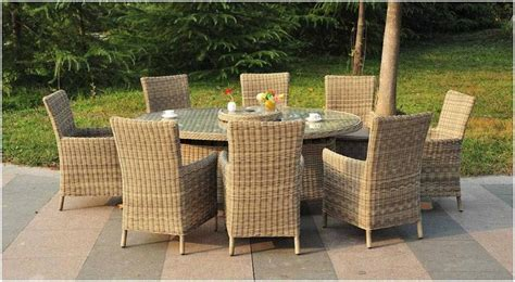 Garden Furniture Uk by Royalcraft Wentworth 8 Seater Carver Dining Set