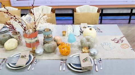 Thanksgiving Decorations To Make At Home by Thanksgiving Table Decor Ideas For The And Kids Tables Today Com