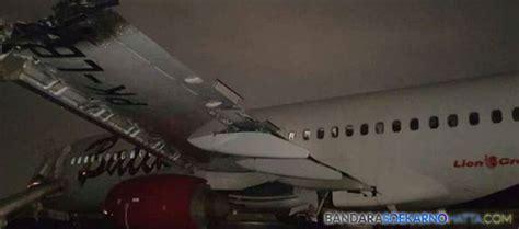 batik air halim perdanakusuma call center pasca insiden tabrakan pendaratan pesawat di bandara