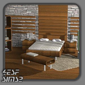 4ESF   modern furniture for Sims2