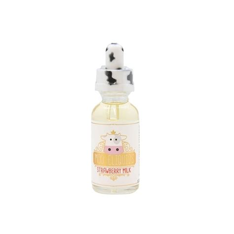 Milk Lover Strawberry Eliquid Vaporizer strawberry milk 30ml vape juice moo e liquid electric tobacconist 174