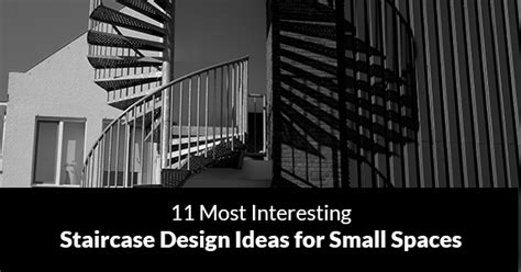13 stair design ideas for small spaces contemporist 11 most interesting staircase design ideas for small spaces