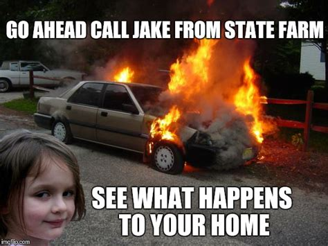Disaster Girl Meme - disaster girl car imgflip