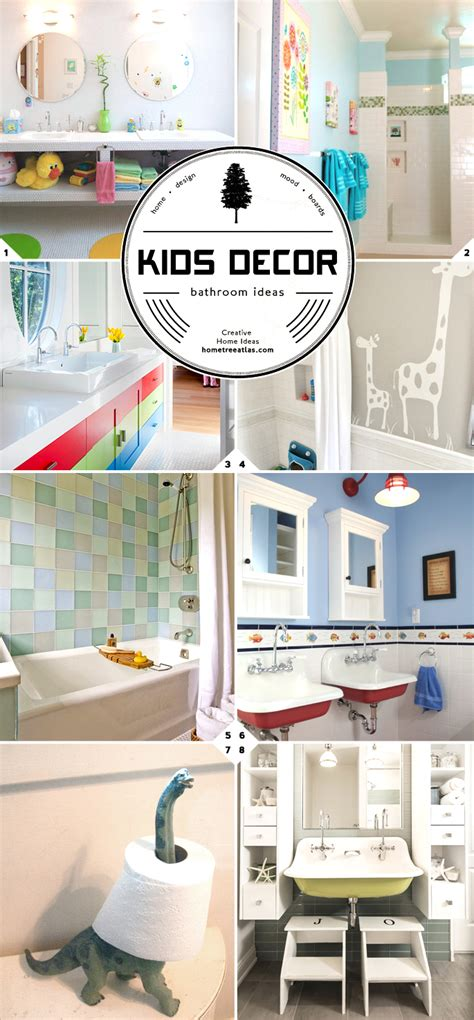 Kids Bathroom Decorating Ideas by Kids Bathroom Decor And Design Ideas Home Tree Atlas