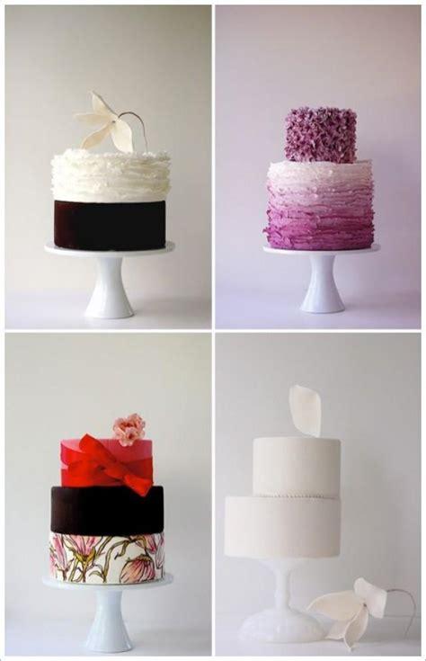 Moderne Hochzeitstorten by Modern Wedding Modern Wedding Cakes 2053496 Weddbook