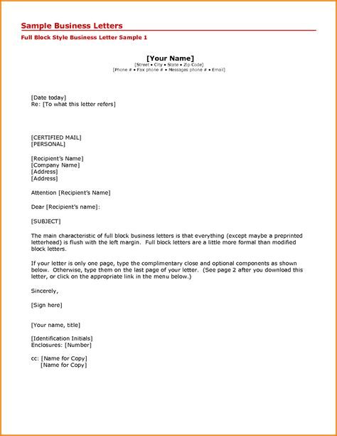 printable formal business letter format expense report