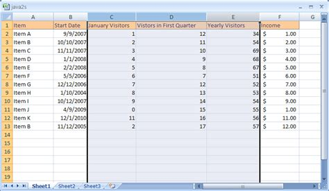 how to select cells in excel 2007 selection selecting how to select multiple columns in excel 2007 microsoft