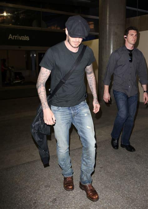 Beckham Talks Denim With by David Beckham In Rrl In Designer