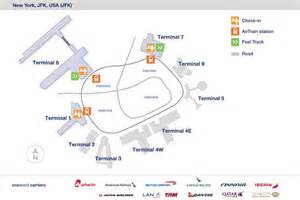 us airways map airport new york jfk airport information airways