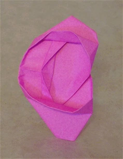 Origami Ear - ear gogh s turvey gilad s origami page