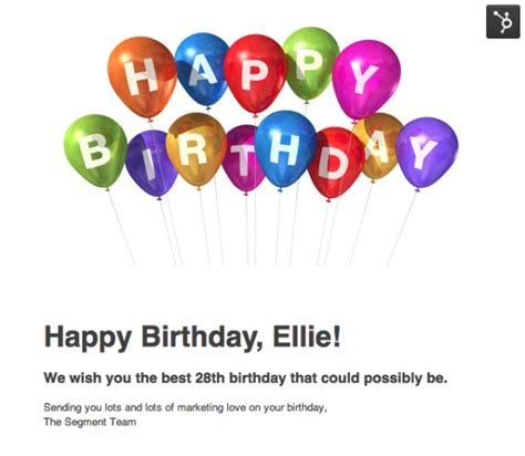 Happy Birthday Wishes Email How To Wish The Marketing Geek In Your Life A Happy Birthday