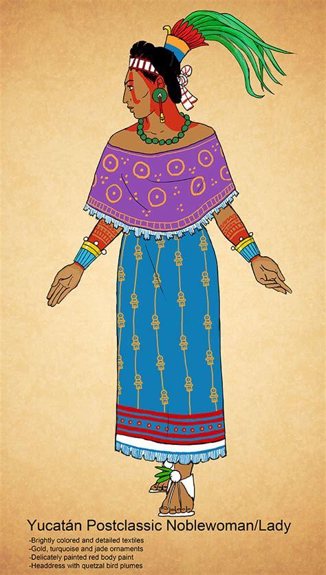 mayas fashion indian clothing store indian fashion yucatan postclassic maya noblewoman by kamazotz on deviantart
